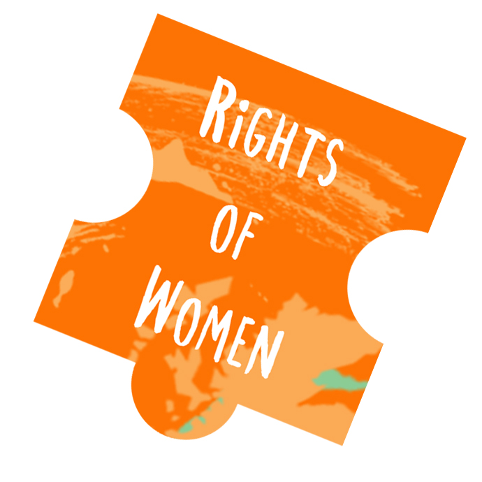 rights of women puzzle piece